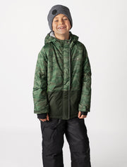 Snowrider Ski Jacket - Camo | Waterproof Windproof Eco