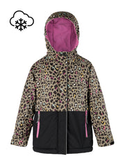 Snowrider Ski Jacket - Leopard | Waterproof Windproof Eco