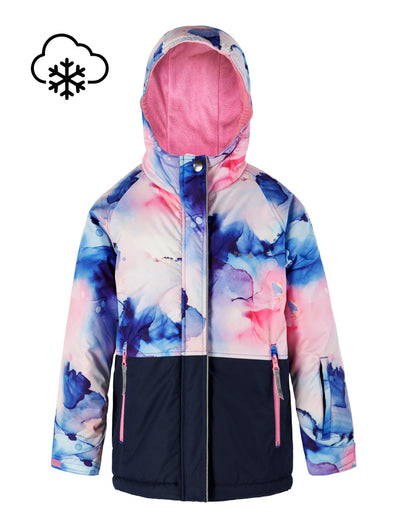 Snowrider Ski Jacket - Watercolour | Waterproof Windproof Eco