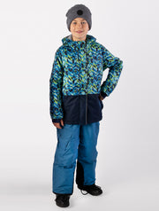 Snowrider Ski Overalls - Denim Blue | Waterproof Windproof Eco