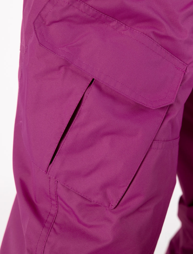 Snowrider Ski Overalls - Wildberry | Waterproof Windproof Eco