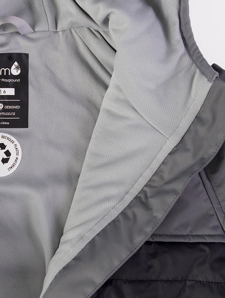 Hydracloud Puffer Jacket - Black | Waterproof Windproof Eco