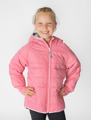 Hydracloud Puffer Jacket - Camellia Pink | Waterproof Windproof Eco