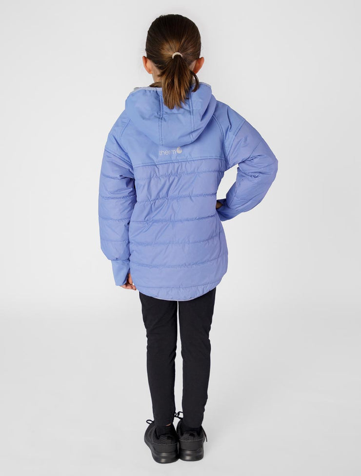 Hydracloud Puffer Jacket - Chambray | Waterproof Windproof Eco