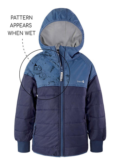 Hydracloud Puffer Jacket - Oxford | Waterproof Windproof Eco
