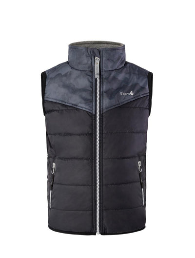 Hydracloud Puffer Vest - Black Mountain | Waterproof Windproof Eco