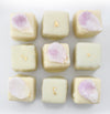Matcha and Rose Petal Petits Fours