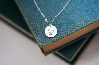 "Hobby Farm Animal Collection, 1/2"" Disc Necklace"