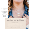 Words By Heart:Create Your Own Personalized Bar Necklace:Asheville, NC
