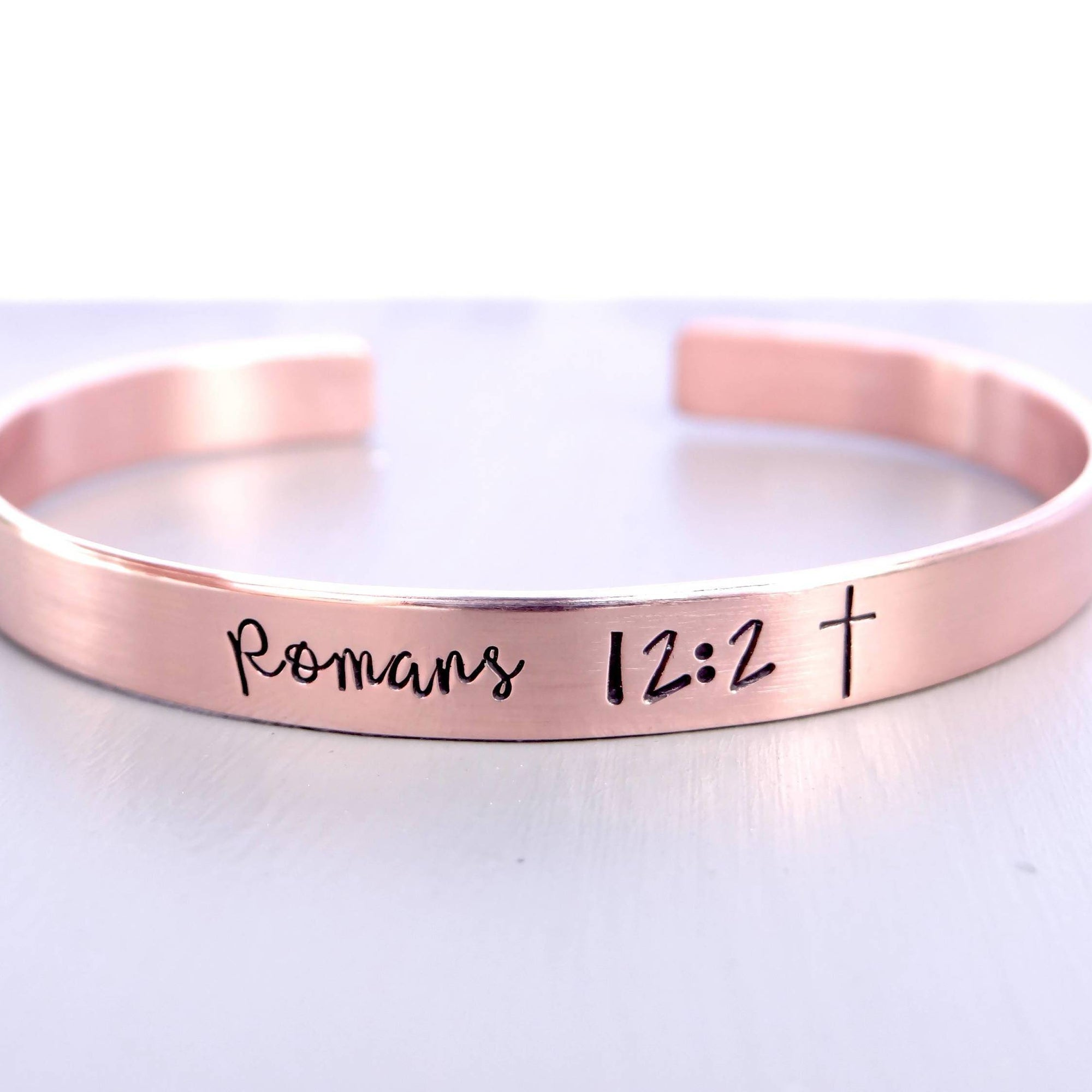 Words By Heart:Custom Scripture, Cuff Bracelet:Asheville, NC