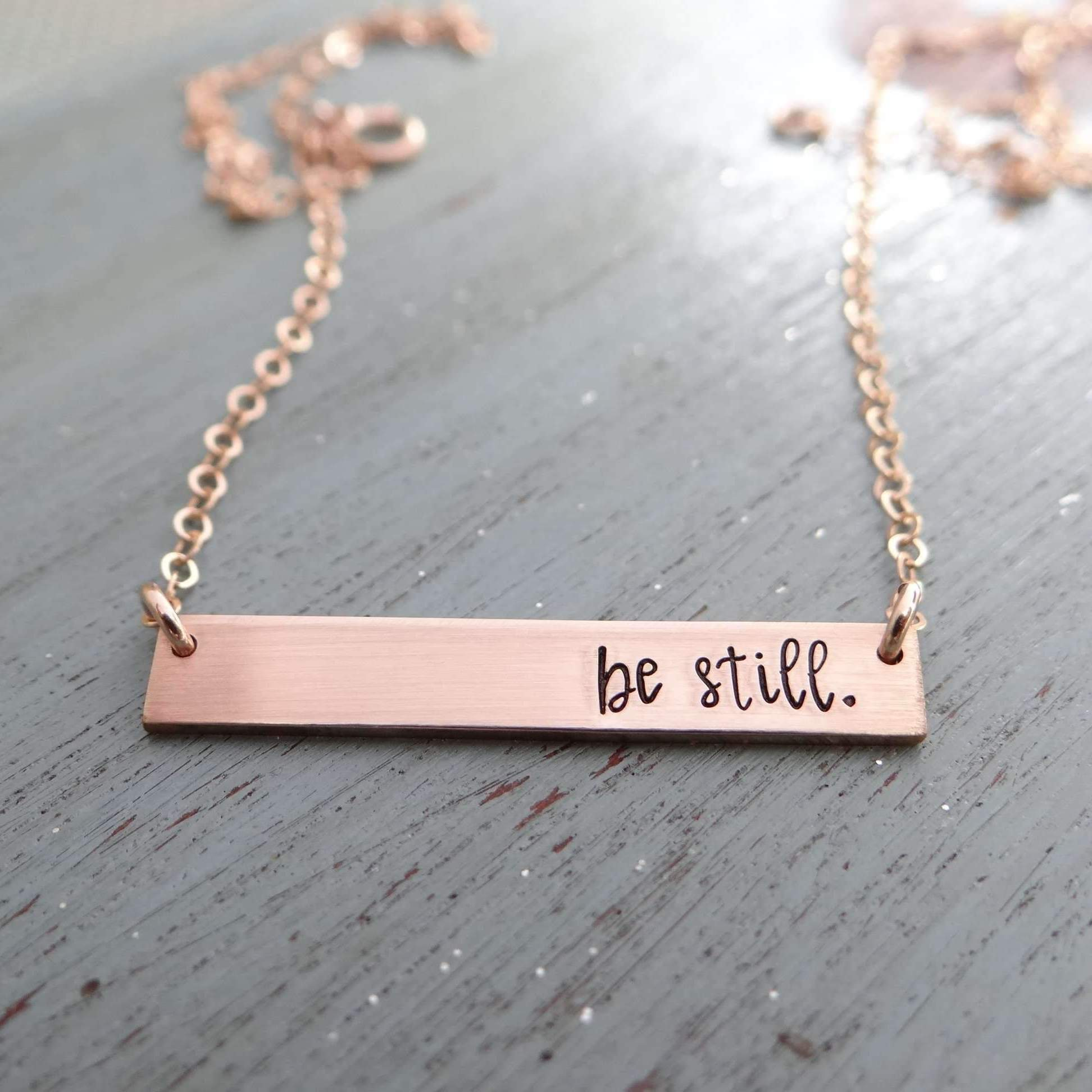 Words By Heart:Be Still, Small Thin Bar:Asheville, NC
