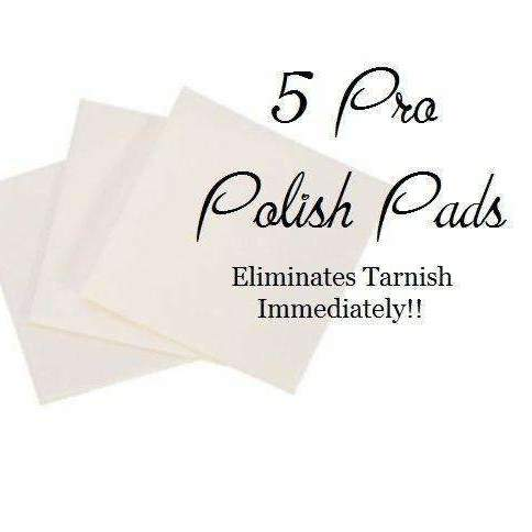 Words By Heart:Five Pro Polish Pads.  Best Tarnish Remover EVER.:Asheville, NC