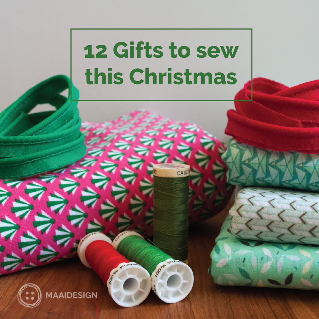 12 Gifts to sew this Christmas