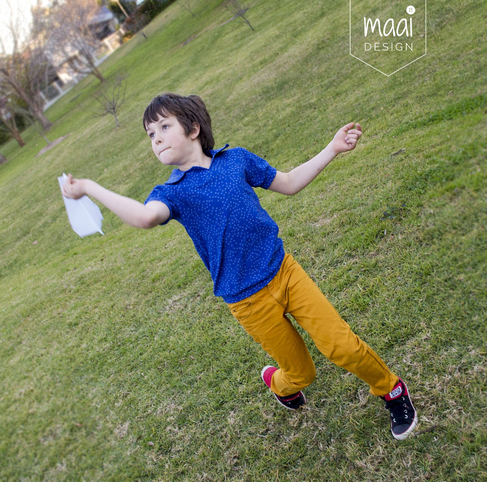 Sewing for boys: a cool top for my oldest son