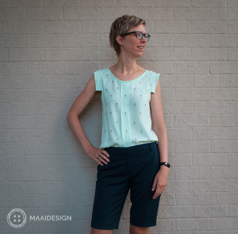 My Sorbetto blouse in rayon