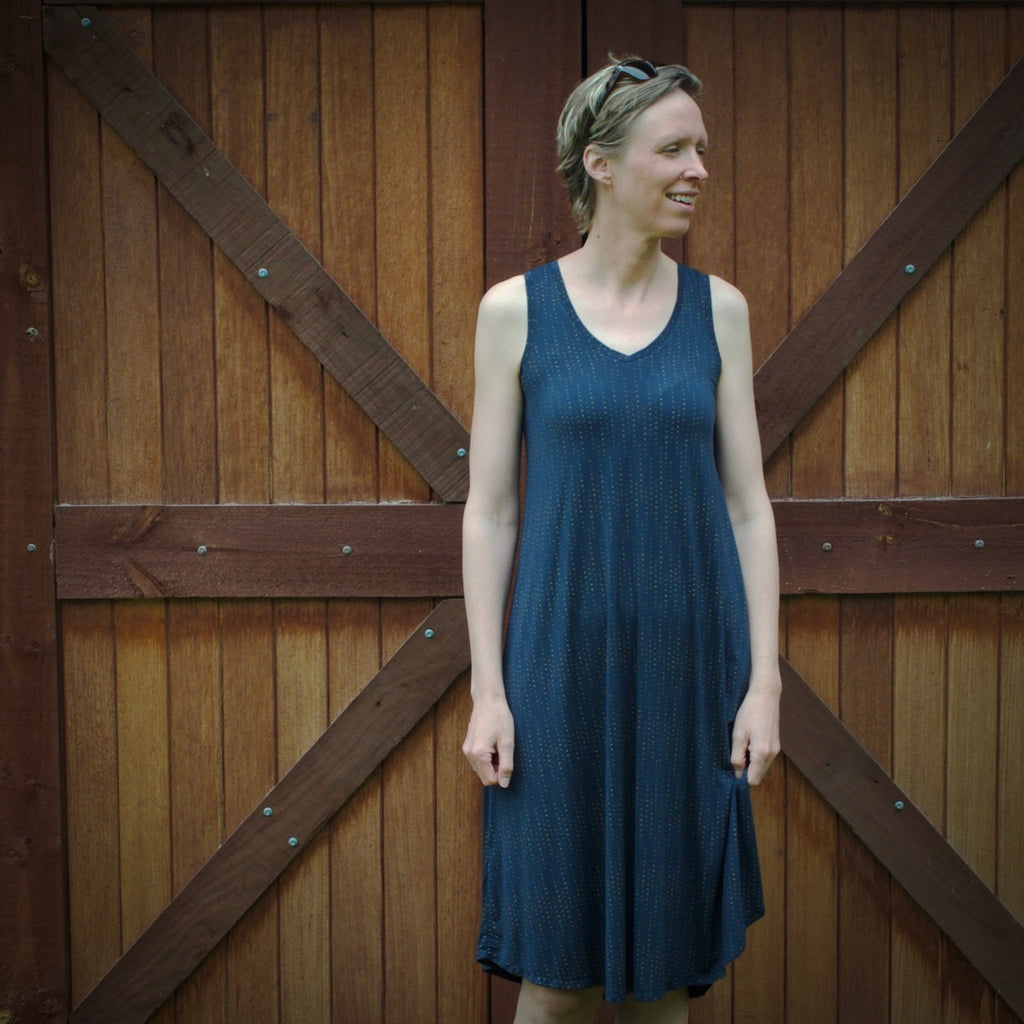 The comfiest dress ever - My Pony Tank by Chalk and Notch