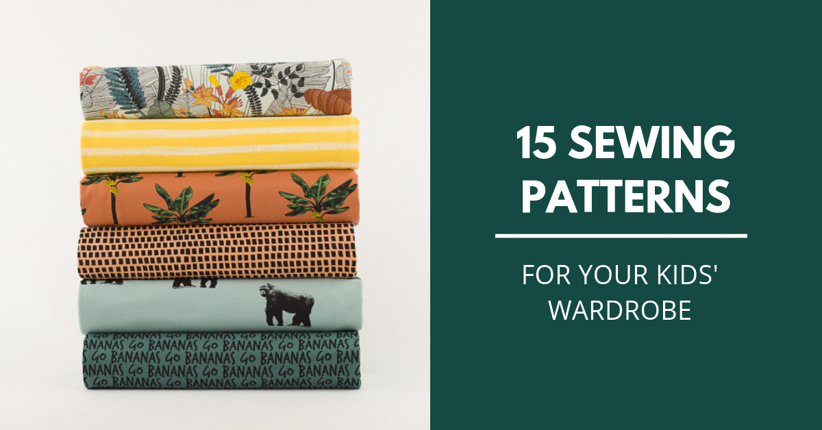 15 Sewing Pattern For Your Kids (and a few for mum too!)