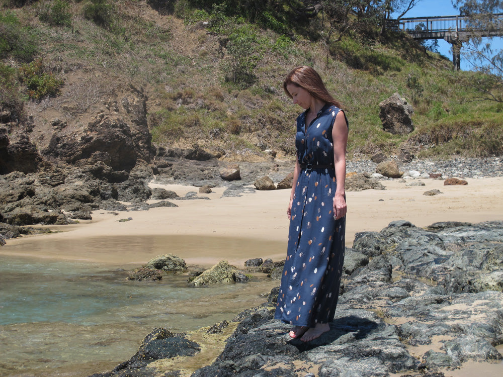 Moonstone Shirtdress for the sunshine