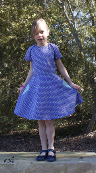 Ileana dress, sewing pattern by Compagnie M, MaaiDesign blog