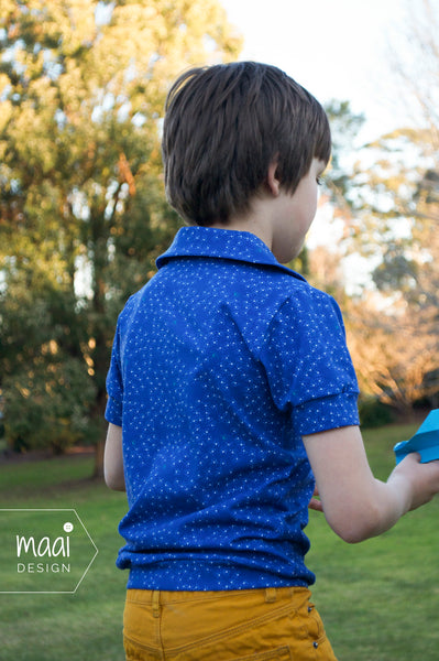 Charlie top, pattern and fabric by Zonen09, MaaiDesign blog
