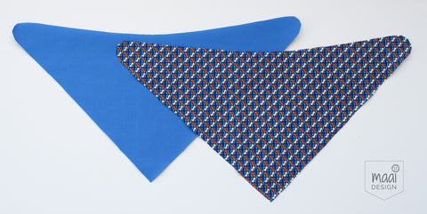 Free bandana bib pattern and instructions - MaaiDesign blog