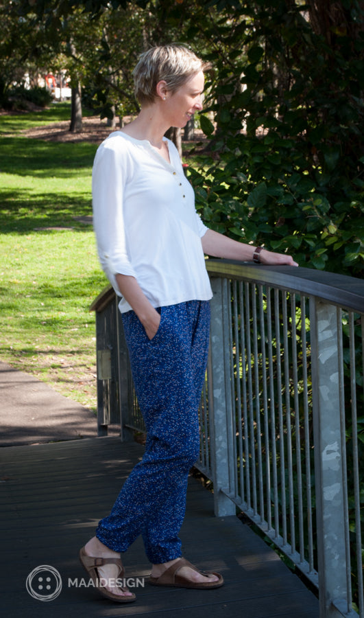 Hudson pants in rayon fabric - MaaiDesign blog