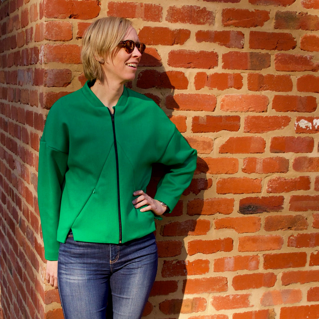 Glide Jacket Sewing Pattern by Made It Patterns