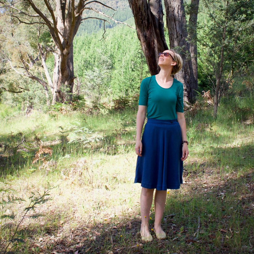 Wattle skirt and Idyllwild top