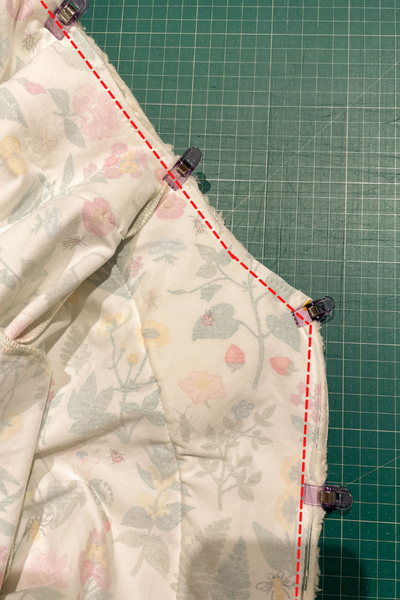 How to line the Frida jacket by Fibremood