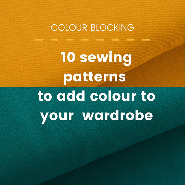 sewing patterns for colour blocking