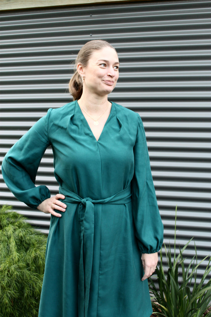 Simplicity 1059 Tencel Twill Dress