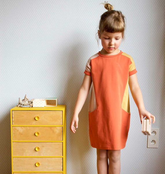 Nore dress sewing pattern Compagnie M