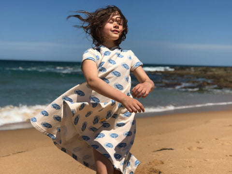 A 'Groovy' French Terry Beach Cover-up – MaaiDesign