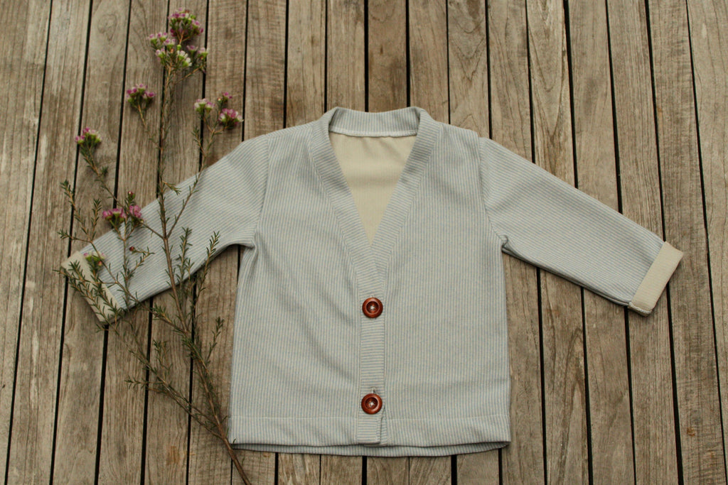 Josephine Cardigan sewing pattern by Iris May