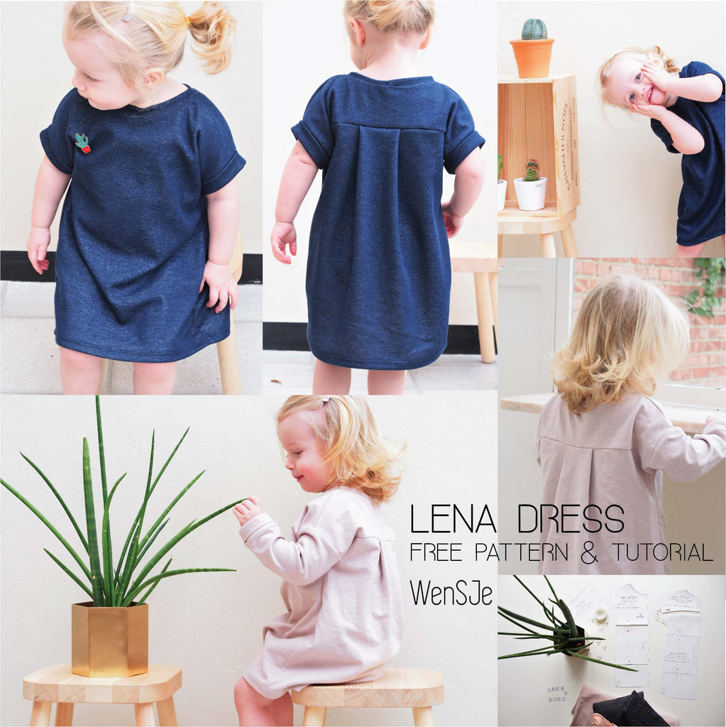 Lena Dress sewing pattern