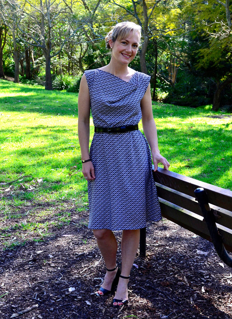 Wren dress in rayon - fabric by See You At Six