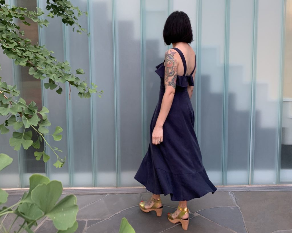Tencel Twill dress by Kylie and The Machine