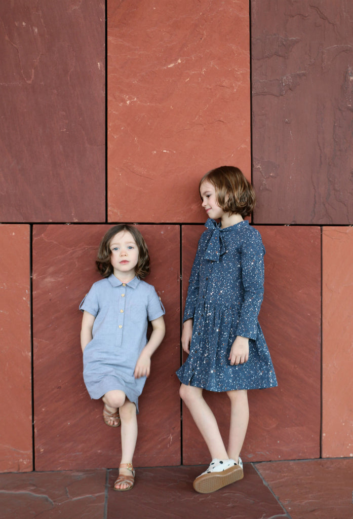 Ume shirt dress sewing pattern