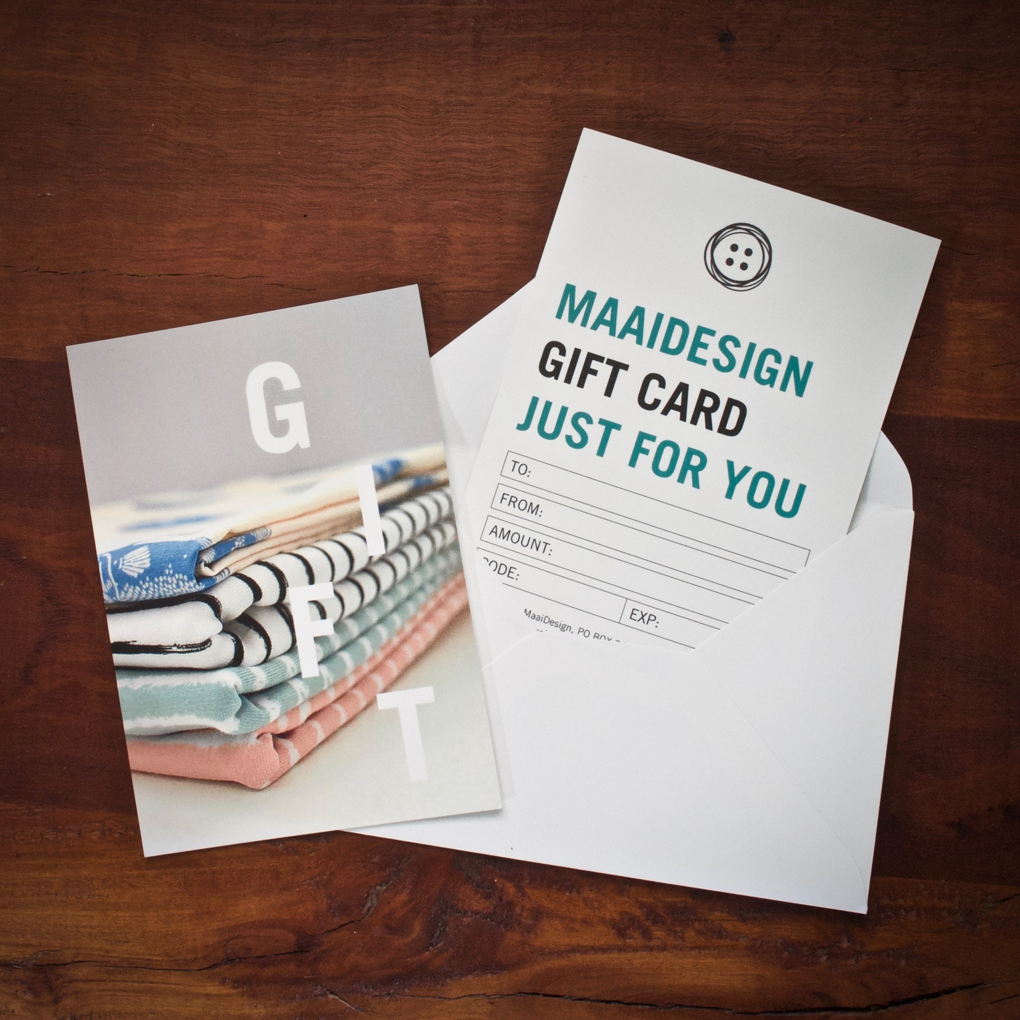 Printed Gift Card