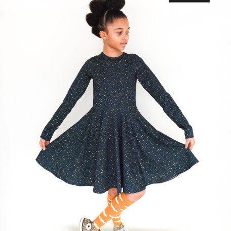 Spin dress by Made It Patterns