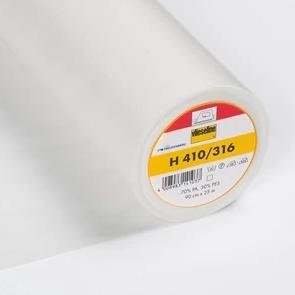H410 Vilene Fusible Interfacing - Medium - with stabilising threads - White - MaaiDesign