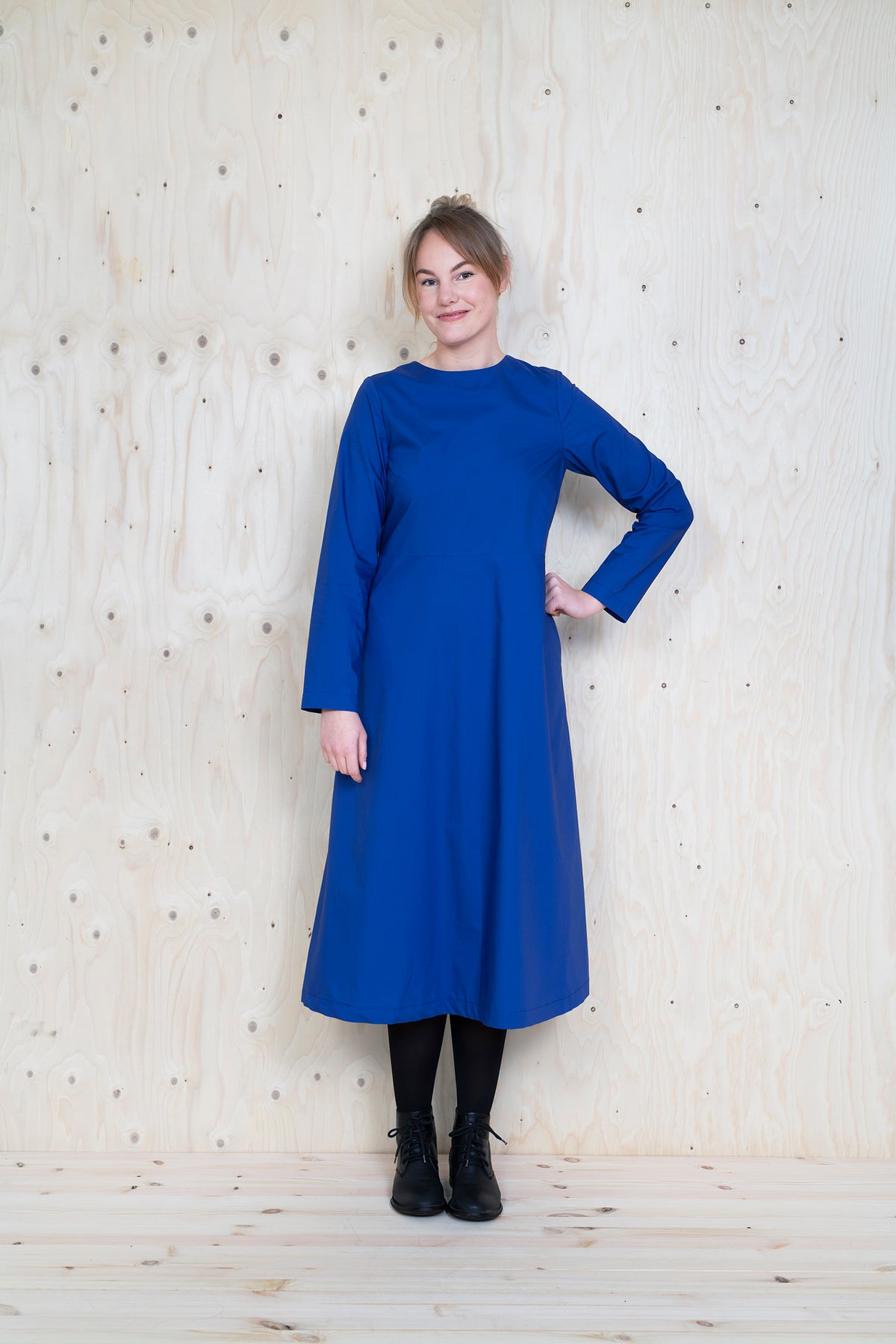 Multi-Sleeve Midi Dress - The Assembly Line - MaaiDesign