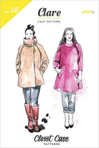 Clare Coat Sewing Pattern - MaaiDesign