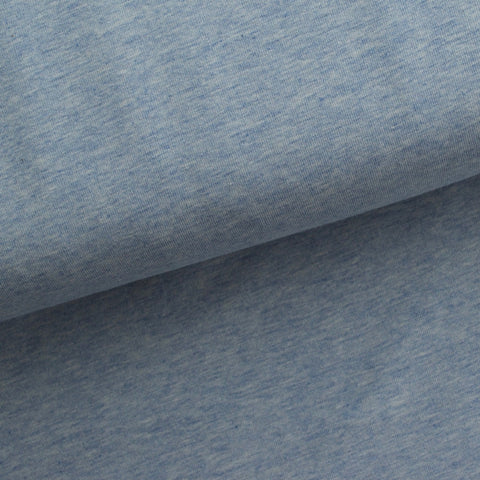 Cotton Jersey - Light Blue Marle - MaaiDesign