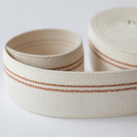 Waistband elastic - Copper lines