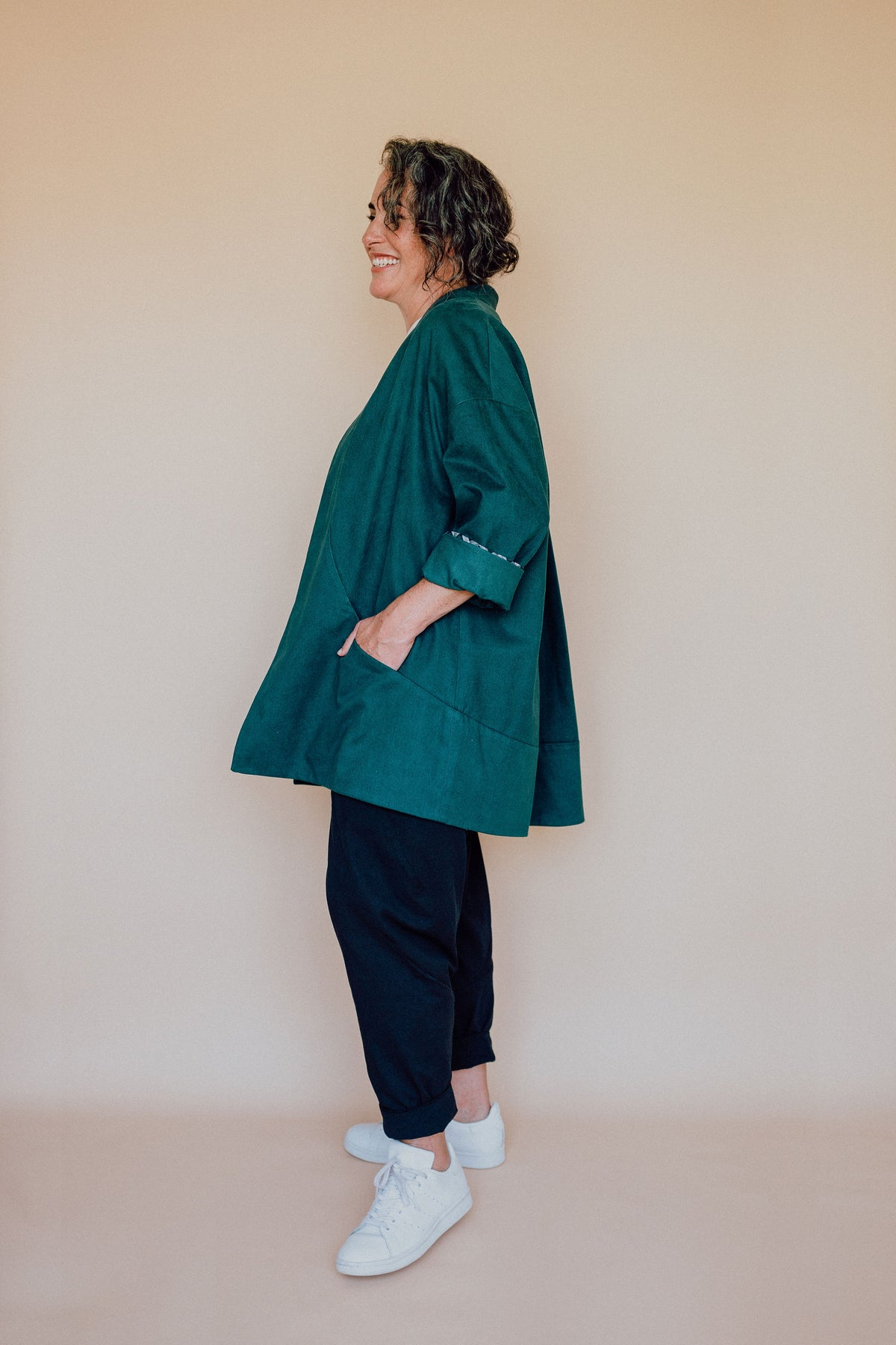 Flynn Jacket Sewing Pattern | In The Folds - MaaiDesign