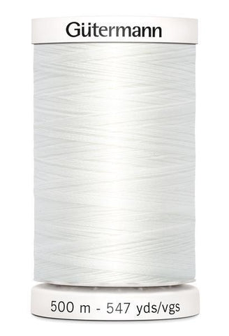 Gütermann sewing thread 800 - White - 500m - MaaiDesign