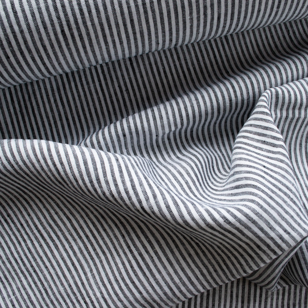 Linen - Black Stripe - MaaiDesign