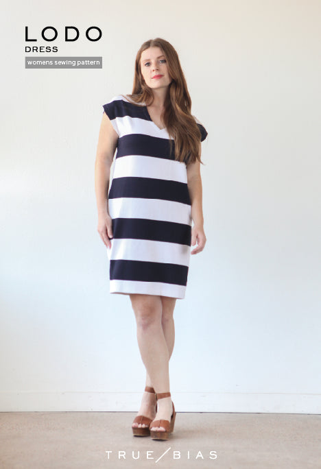 Lodo Dress - True Bias | Sewing Pattern - MaaiDesign