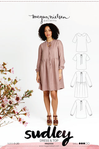 Sudley Dress & Blouse | Sewing Pattern - MaaiDesign